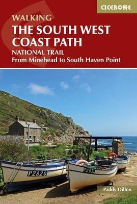 South West Coast Path | wandelgids 9781852847579 Paddy Dillon Cicerone Press   Wandelgidsen, Meerdaagse wandelroutes Zuidwest-Engeland