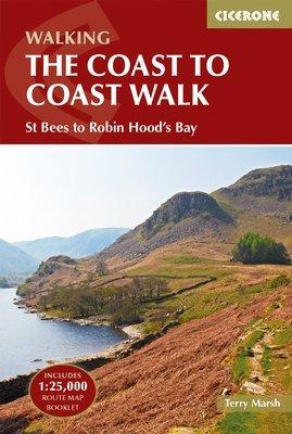 Coast to Coast Trail   wandelgids 9781852847593  Cicerone Press   Meerdaagse wandelroutes, Wandelgidsen Northumberland, Yorkshire Dales & Moors, Peak District, Isle of Man