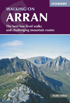 Walking on Arran 9781852848255 Dillon Cicerone Press   Wandelgidsen Skye & the Western Isles