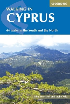 Cyprus, 44 walks | wandelgids 9781852848378  Cicerone Press   Wandelgidsen Cyprus