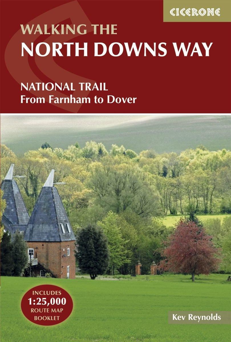 North Downs Way | wandelgids 9781852848613  Cicerone Press   Meerdaagse wandelroutes, Wandelgidsen Zuidoost-Engeland, Kent, Sussex, Isle of Wight