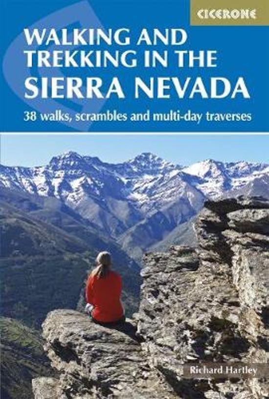 Walking in the Sierra Nevada 9781852849177  Cicerone Press   Meerdaagse wandelroutes, Wandelgidsen Andalusië
