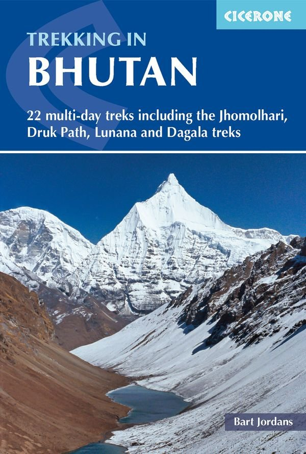 Bhutan | wandelgids 9781852849191 Bart Jordans Cicerone Press   Meerdaagse wandelroutes, Wandelgidsen Bhutan en Sikkim