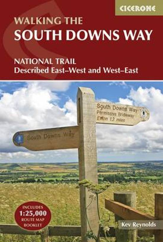 The South Downs Way | wandelgids 9781852849405 Reynolds Cicerone Press   Meerdaagse wandelroutes, Wandelgidsen Zuidoost-Engeland
