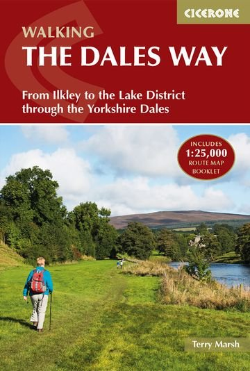 The Dales Way | wandelgids 9781852849436 Terry Marsh Cicerone Press   Meerdaagse wandelroutes, Wandelgidsen Noord-Engeland