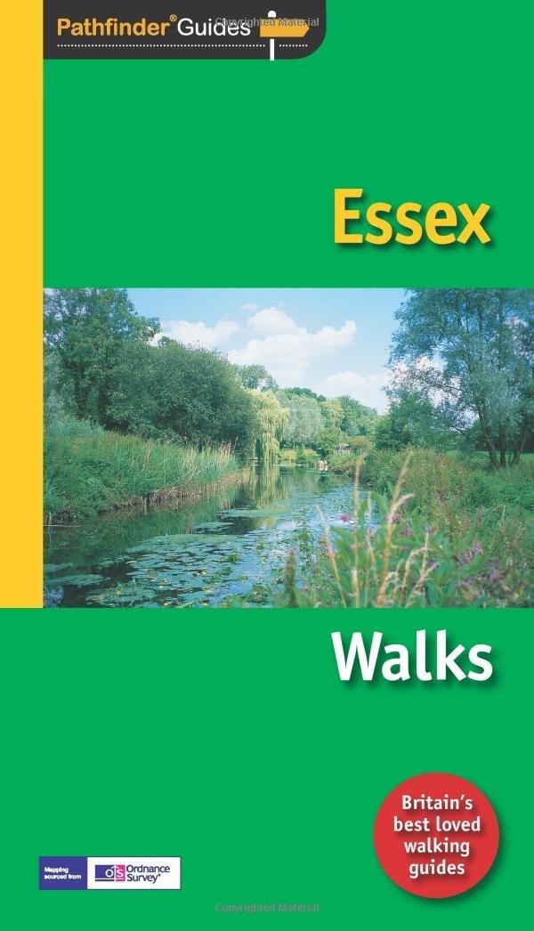 PG-44  Essex walks | wandelgids 9781854585103  Crimson Publishing / Ordnance Survey Pathfinder Guides  Wandelgidsen Midden- en Oost-Engeland