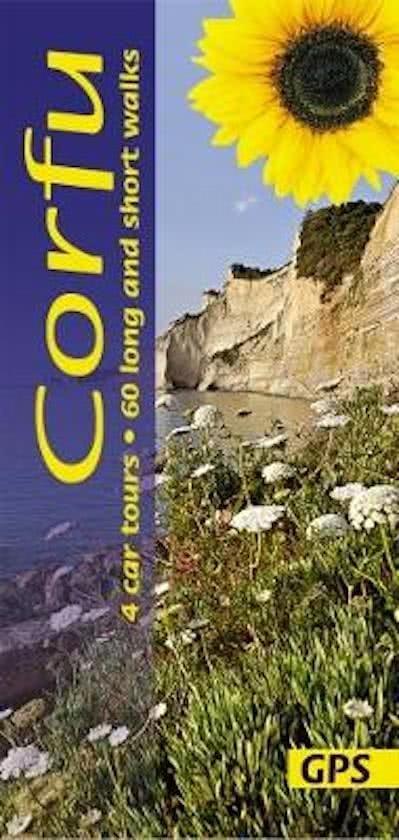 Sunflower Corfu 9781856914925  Sunflower Landscapes  Wandelgidsen Ionische Eilanden (Korfoe, Lefkas, etc.)