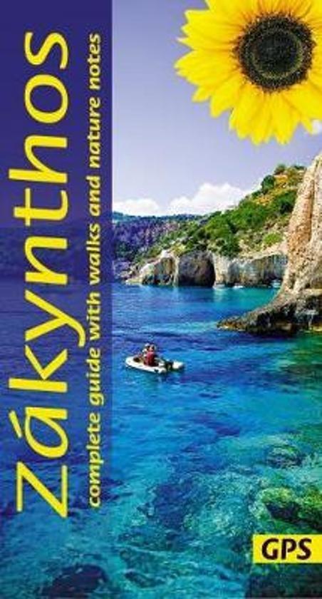 Zakynthos 9781856915243  Sunflower Complete Guide  Wandelgidsen Ionische Eilanden (Korfoe, Lefkas, etc.)