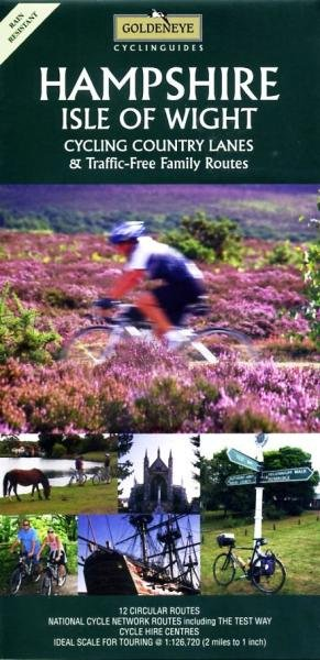 Hampshire, Isle of Wight 1:100.000 9781859651490  Goldeneye   Fietskaarten Zuidoost-Engeland