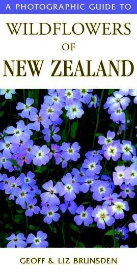 A Photographic Guide to Wildflowers of New Zealand 9781869660475 Geoff & Liz Brunsden New Holland Photographic Guides  Natuurgidsen Nieuw Zeeland
