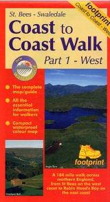Coast to Coast Part 1, West 9781871149630  Footprint   Wandelkaarten Noord-Engeland