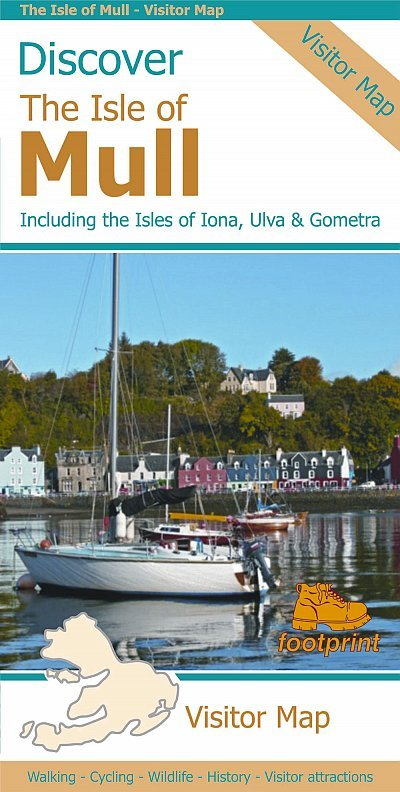 Discover the Isle of Mull, map 1:65.000 9781871149852  Stirling Surveys   Landkaarten en wegenkaarten Schotland