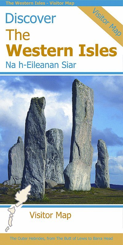 Discover the Western Isles : Visitor Map 1:140.000 9781871149869  Stirling Surveys   Landkaarten en wegenkaarten Schotland