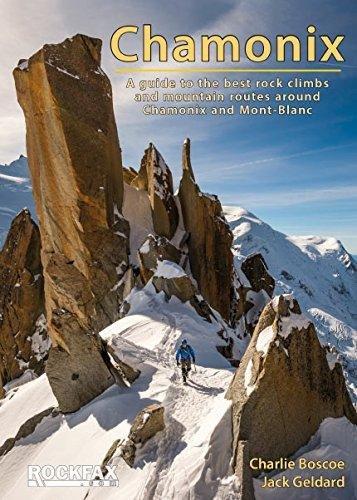 Chamonix Rockfax 9781873341575  Rockfax   Klimmen-bergsport Lyon, Ain, Savoie, Mont Blanc, Vanoise, Chartreuse
