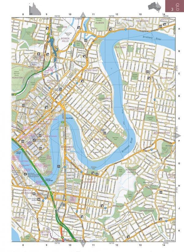 Australia Road + 4WD Atlas (Large) 9781876413446  Hema Maps Wegenatlassen  Wegenatlassen Australië