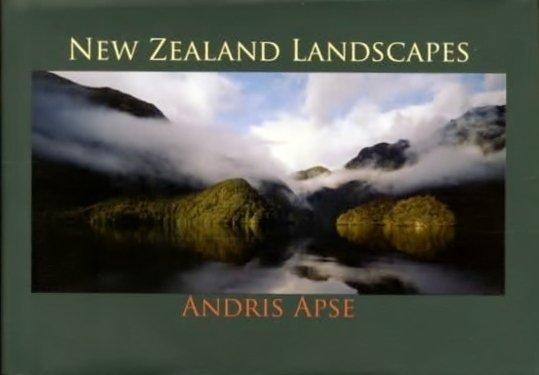 New Zealand Landscapes | Andris Apse 9781877333439 Andris Apse Potton & Burton   Fotoboeken Nieuw Zeeland
