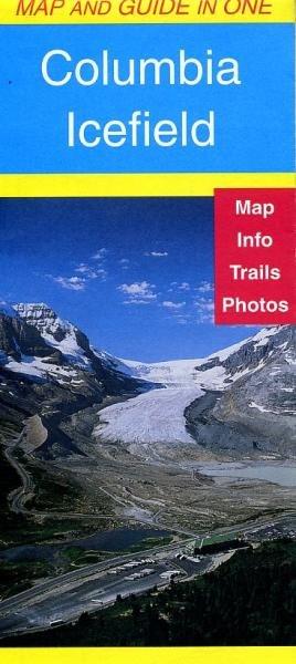 Columbia Icefield 1:75.000 9781895526257  Gem Trek Publishing Wandelkaarten Canada  Wandelkaarten West-Canada, Rockies