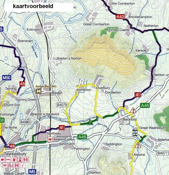 CCG21 East Midlands Cycle Map 1:110.000 9781900623353  Cycle City Guides / Sustrans   Fietskaarten Midden- en Oost-Engeland