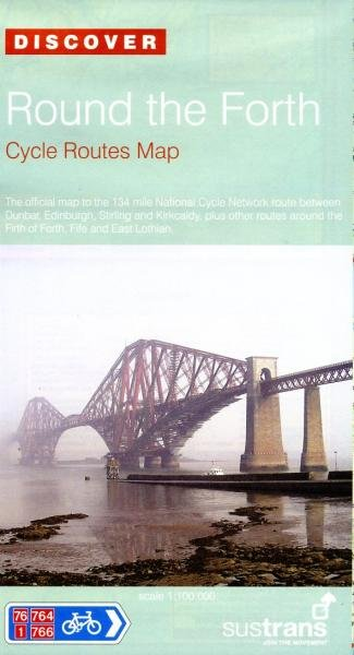 NN76  Round the Forth 9781901389746  Sustrans Nat. Cycle Network  Fietskaarten Edinburgh