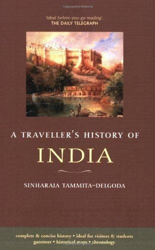 Travellers History of India 9781905214532 SinhaRaja Tammita-Delgoda Chastleton   Landeninformatie India