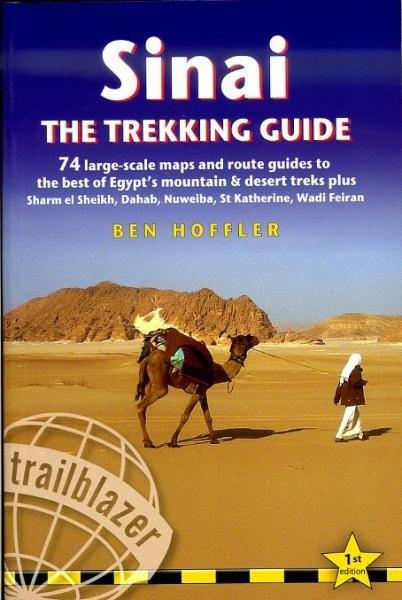 Sinai Trekking Guide 9781905864416  Trailblazer Walking Guides  Meerdaagse wandelroutes, Wandelgidsen Egypte