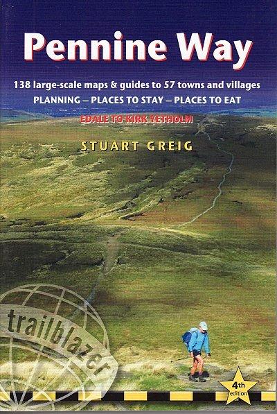 Pennine Way 9781905864614  Trailblazer Walking Guides  Meerdaagse wandelroutes, Wandelgidsen Northumberland, Yorkshire Dales & Moors, Peak District, Isle of Man