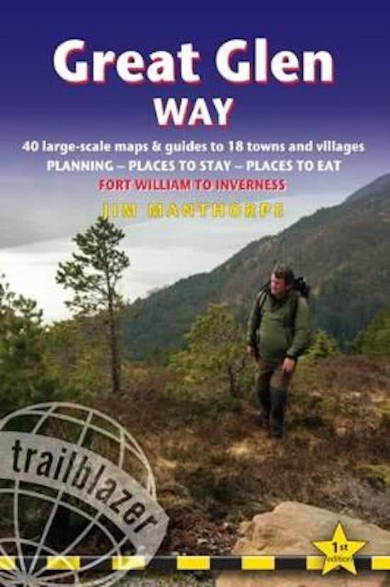 Great Glen Way 9781905864805  Trailblazer   Meerdaagse wandelroutes, Wandelgidsen Schotland