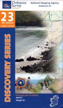 DM-23 9781907122200  Ordnance Survey Ireland Discovery Maps 1:50.000  Wandelkaarten Ierland West- en Zuid