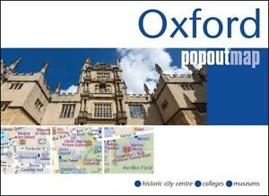 Oxford PopOut Map 9781910218204  Popout maps PopOut Maps  Stadsplattegronden Midden- en Oost-Engeland