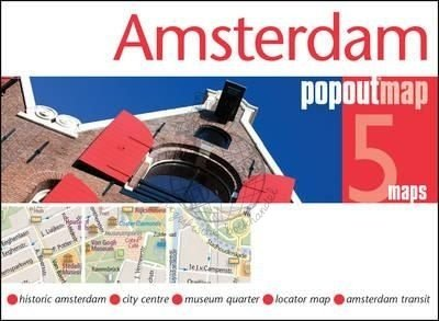 Amsterdam pop out map 9781910218327  Insideout PopOut Maps  Stadsplattegronden Amsterdam