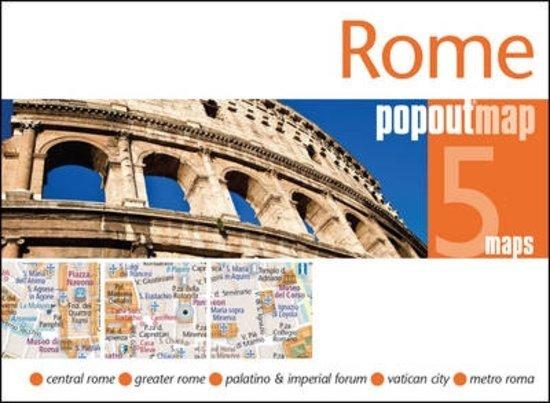 Rome pop out map 9781910218334  Insideout PopOut Maps  Stadsplattegronden Rome, Abruzzen