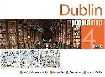 Dublin pop out map 9781910218471  Insideout PopOut Maps  Stadsplattegronden Ierland Noord- en Oost, Dublin