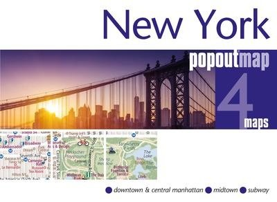 New York pop out map 9781910218594  Berlitz PopOut Maps  Stadsplattegronden New York, Pennsylvania, Washington DC