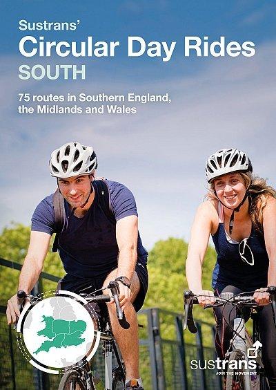 Sustrans' Circular Day Rides South 9781910845448  AA Sustrans Cycling Guides  Fietsgidsen Zuidoost-Engeland, Kent, Sussex, Isle of Wight, Zuidwest-Engeland, Cornwall, Devon, Somerset, Dorset