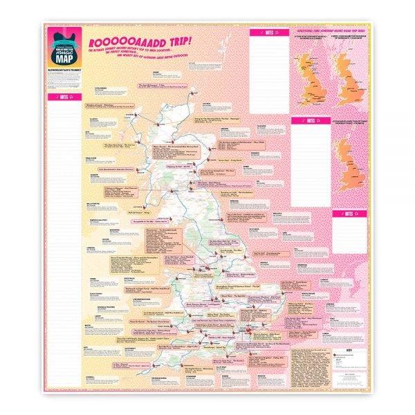 Marvellous Maps: Great British Music Map 9781999784522  Strumpshaw, Tincleton & Giggleswick's   Muziek Groot-Brittannië