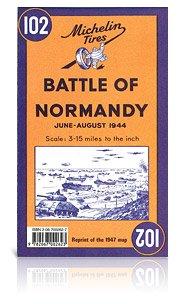 102 Battle of Normandy, june - august 1944 9782067002623  Michelin   Historische reisgidsen, Landeninformatie Normandië