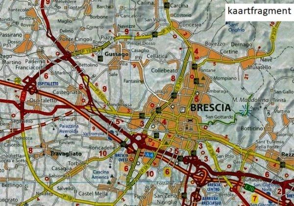 353 Lombardia | Michelin  wegenkaart, autokaart 1:200.000 9782067127159  Michelin Michelin Italië 1:200.000  Landkaarten en wegenkaarten Ligurië, Piemonte, Lombardije