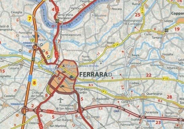 359 Umbria, Marche   Michelin  wegenkaart, autokaart 1:200.000 9782067127210  Michelin Michelin Italië 1:200.000  Landkaarten en wegenkaarten Toscane, Umbrië, de Marken
