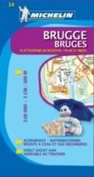 Brugge extra 9782067129603  Michelin Plattegronden Belgie  Stadsplattegronden Gent & Brugge