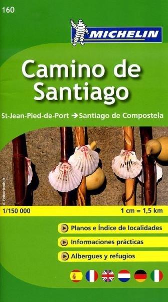 Wandelatlasje de Weg naar Compostela 1:150.000 (E) 9782067148055  Michelin   Santiago de Compostela, Wandelkaarten Noordwest-Spanje, Compostela, Picos de Europa