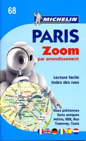 068 Pocket atlas Paris par arondissements 9782067157187  Michelin   Stadsplattegronden Parijs, Île-de-France