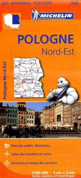 555  Polen Noord-Oost | Michelin  wegenkaart, autokaart 1:300.000 9782067183797  Michelin Michelin 1:300.000  Landkaarten en wegenkaarten Polen