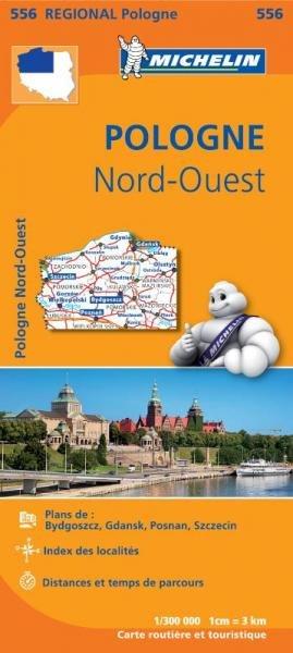556  Polen Noord-west | Michelin  wegenkaart, autokaart 1:300.000 9782067183827  Michelin Michelin 1:300.000  Landkaarten en wegenkaarten Polen