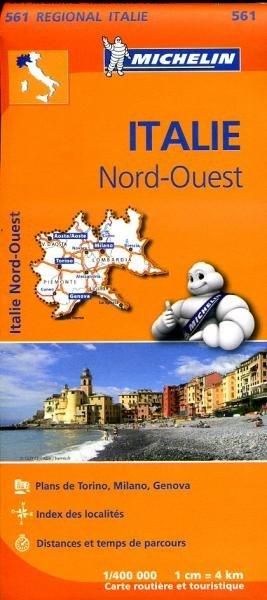 561  Italie NW | Michelin  wegenkaart, autokaart 1:400.000 9782067183919  Michelin   Landkaarten en wegenkaarten Ligurië, Piemonte, Lombardije
