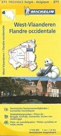 West-Vlaanderen 9782067185289  Michelin België 1:150.000  Landkaarten en wegenkaarten Vlaanderen & Brussel