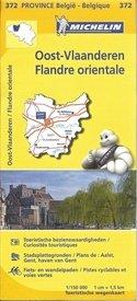 Oost-Vlaanderen 9782067185296  Michelin België 1:150.000  Landkaarten en wegenkaarten Vlaanderen & Brussel