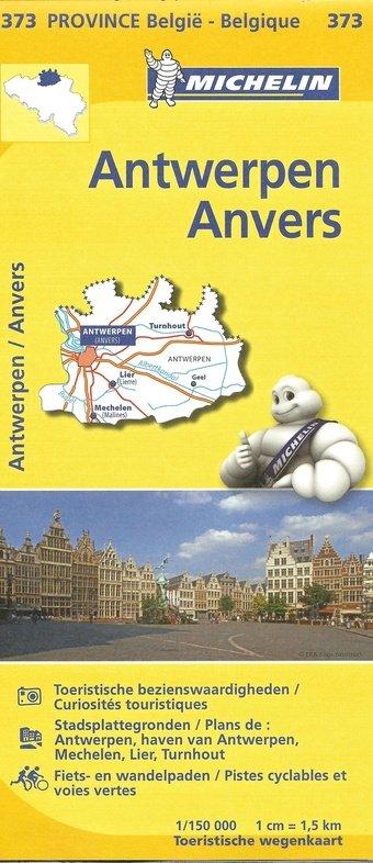 Antwerpen, provincie 9782067185302  Michelin België 1:150.000  Landkaarten en wegenkaarten Vlaanderen & Brussel