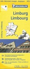 Limburg (B) 9782067185326  Michelin België 1:150.000  Landkaarten en wegenkaarten Vlaanderen & Brussel