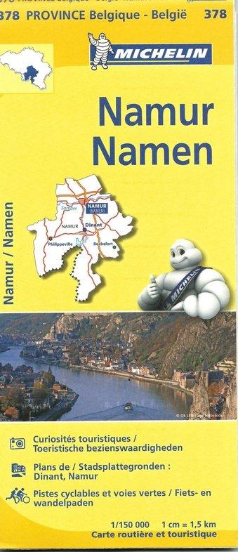 Namen, province Namur 9782067185357  Michelin België 1:150.000  Landkaarten en wegenkaarten Wallonië (Ardennen)