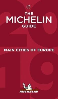 Michelin Gids Europe Main Cities 2019 9782067230507  Michelin Rode Jaargidsen  Hotelgidsen, Restaurantgidsen Europa
